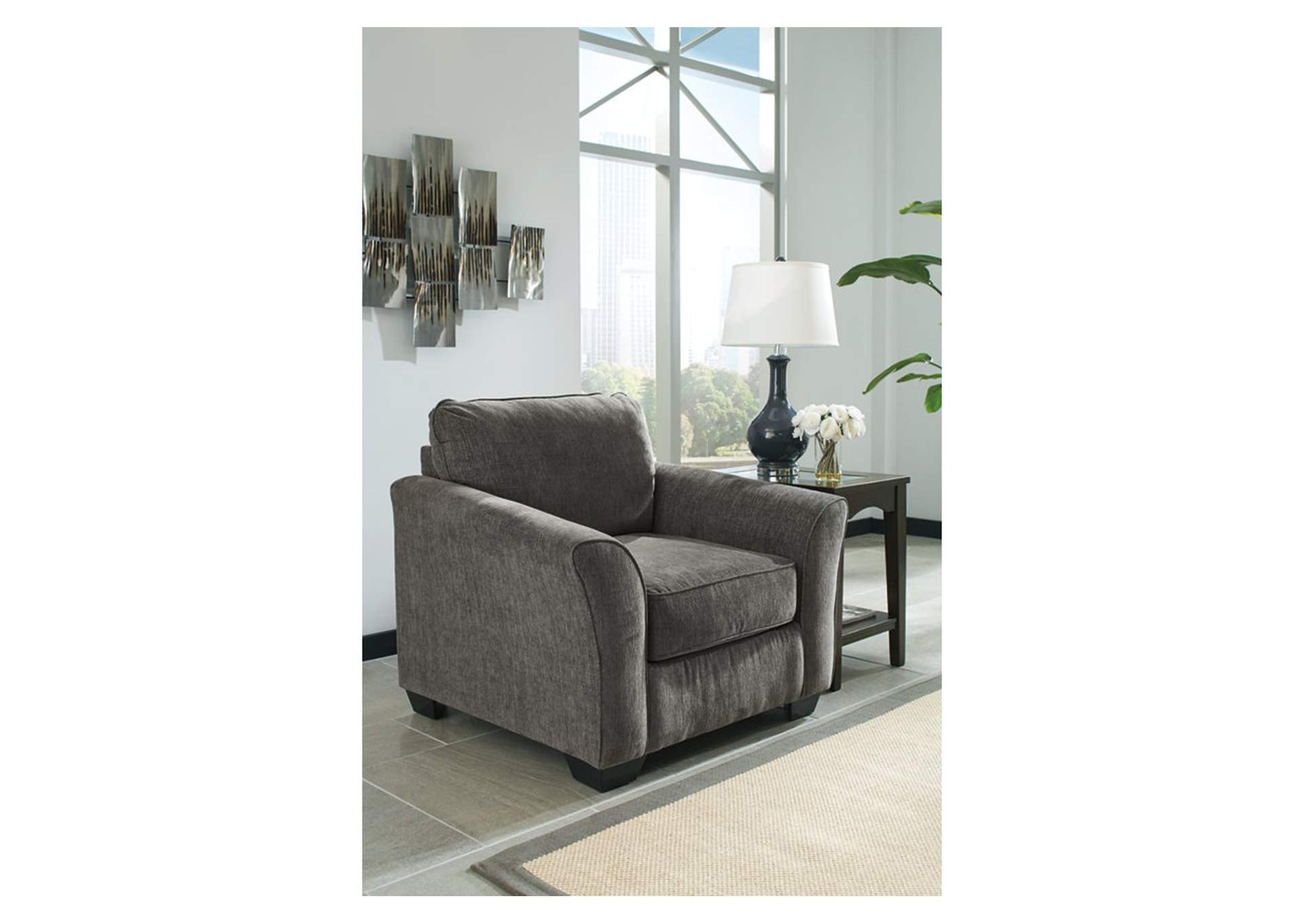 Brise Slate Chair,Benchcraft