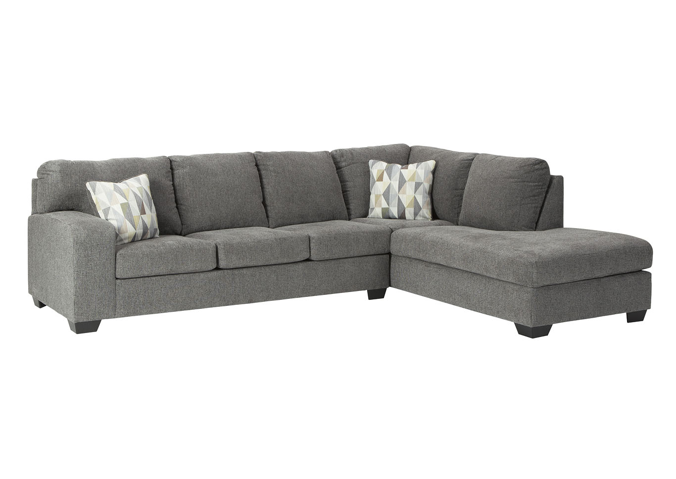 Dalhart Charcoal Right-Arm Facing Sofa Chaise,Benchcraft