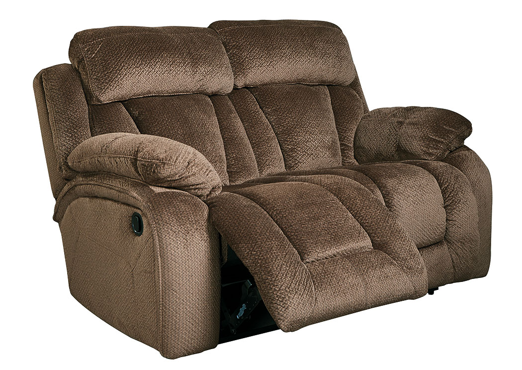 Stricklin Chocolate Reclining Loveseat,Signature Design By Ashley