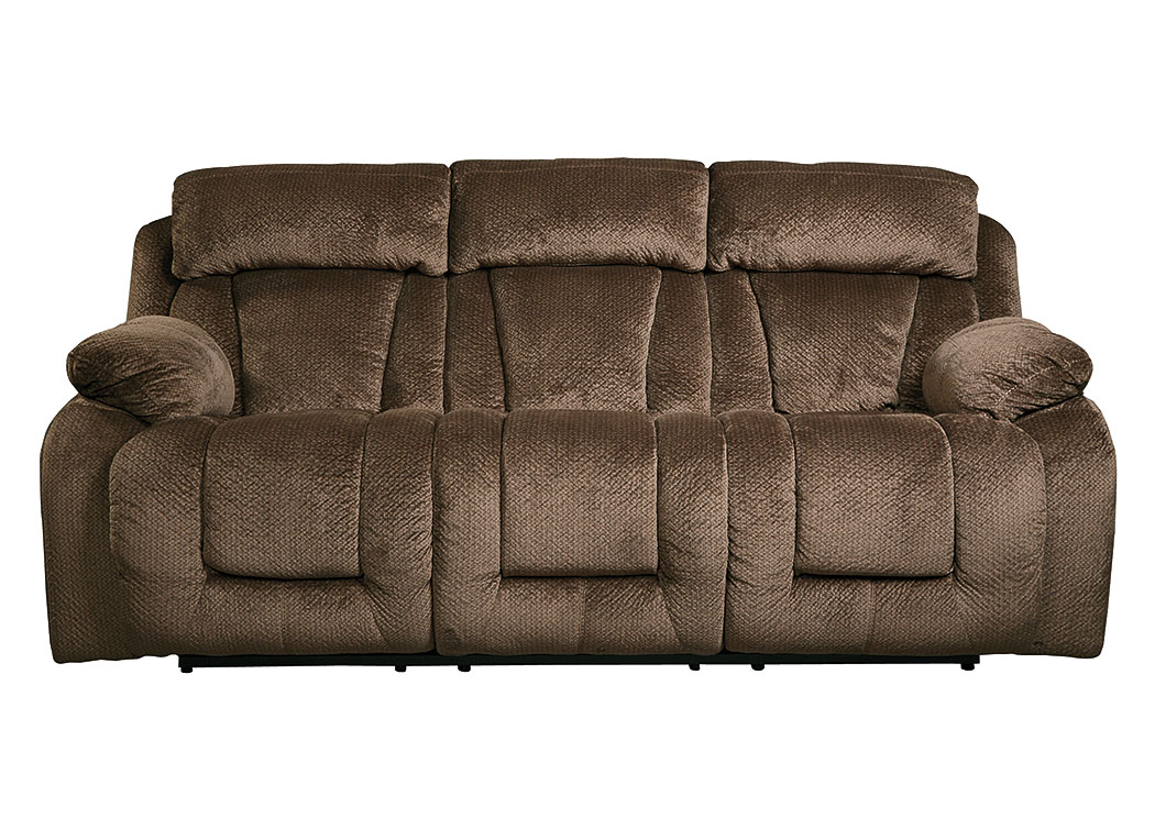 Stricklin Chocolate Reclining Sofa,Signature Design By Ashley