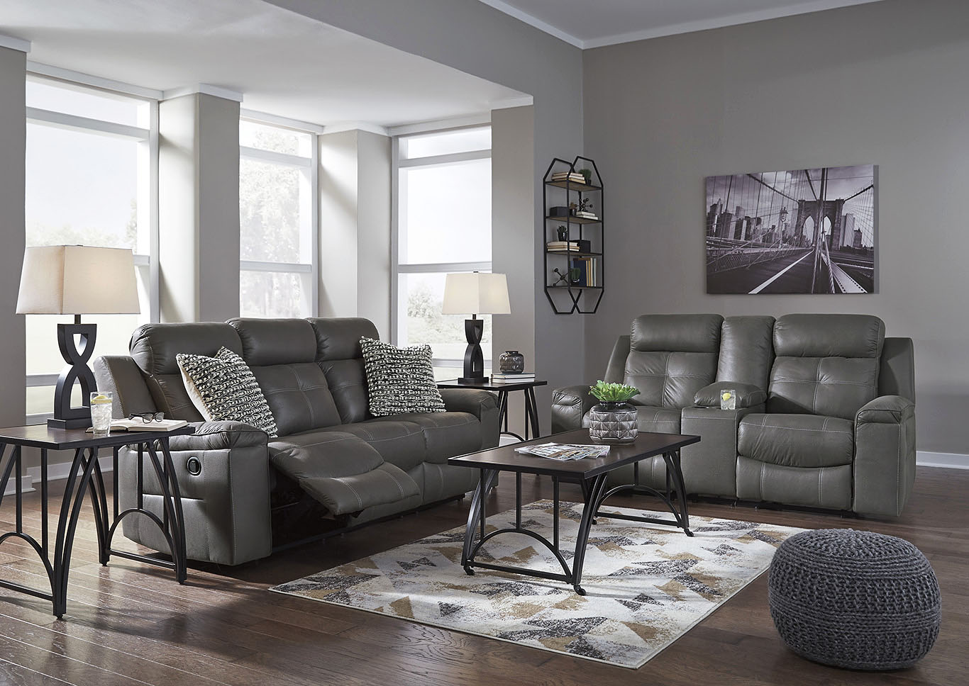 Remarkable Affordable Mattress And Furniture Jesolo Dark Gray Double Bralicious Painted Fabric Chair Ideas Braliciousco