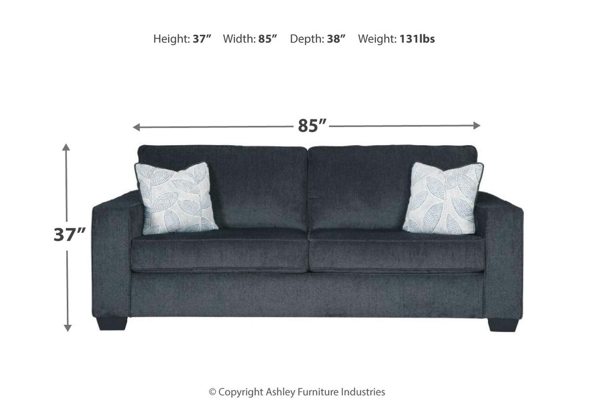Altari Slate Sofa,Signature Design By Ashley