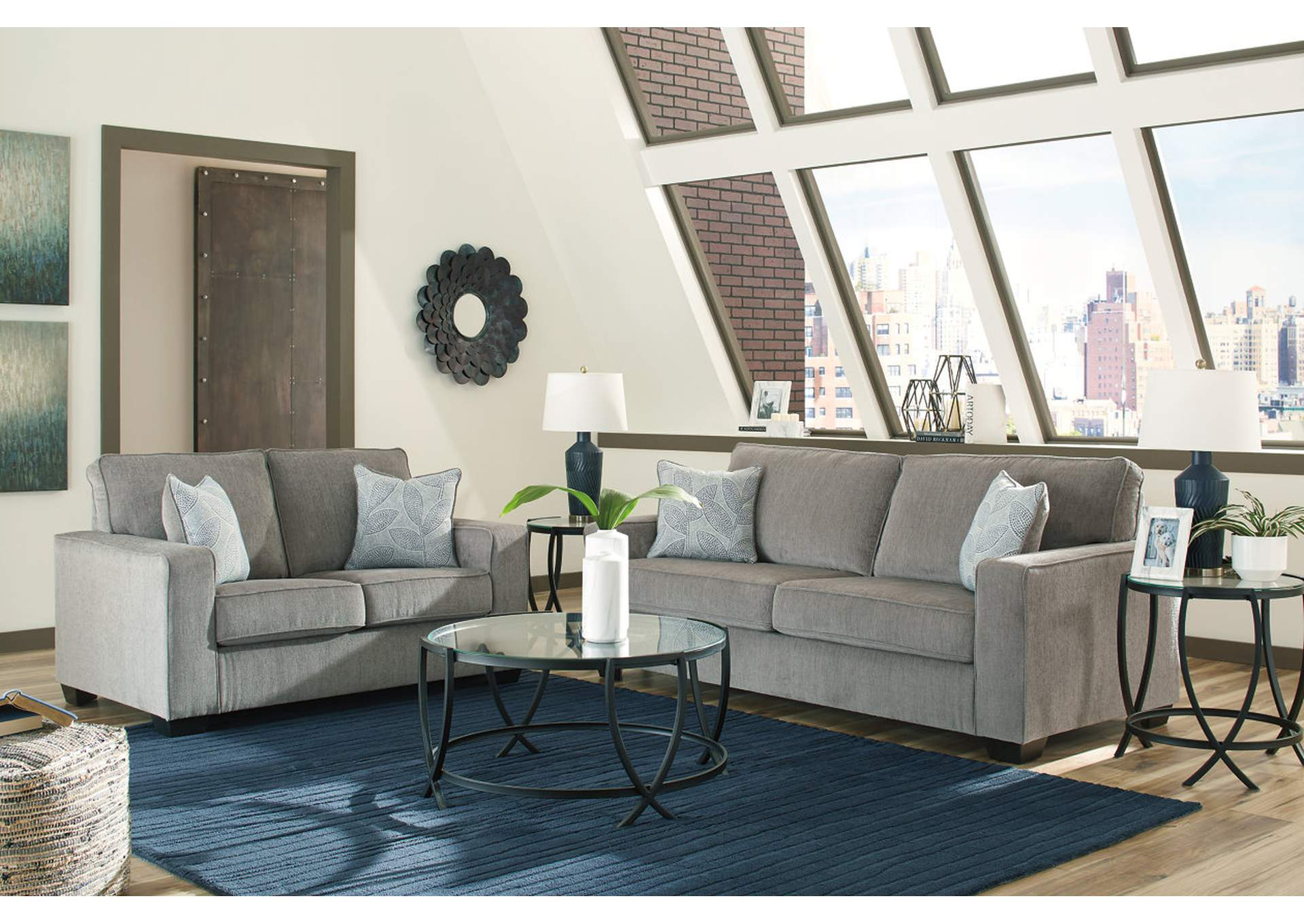 Altary Alloy Sofa and Loveseat,Signature Design By Ashley