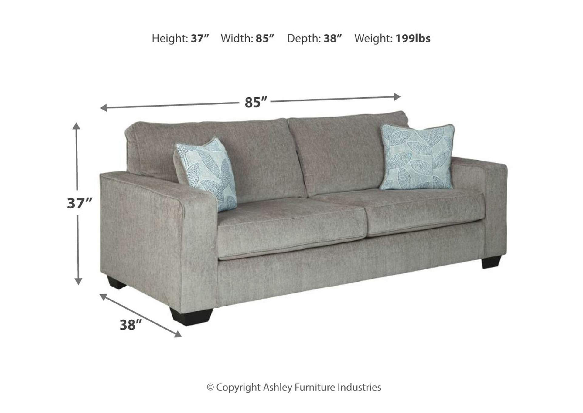 Altari Alloy Queen Sofa Sleeper,Signature Design By Ashley