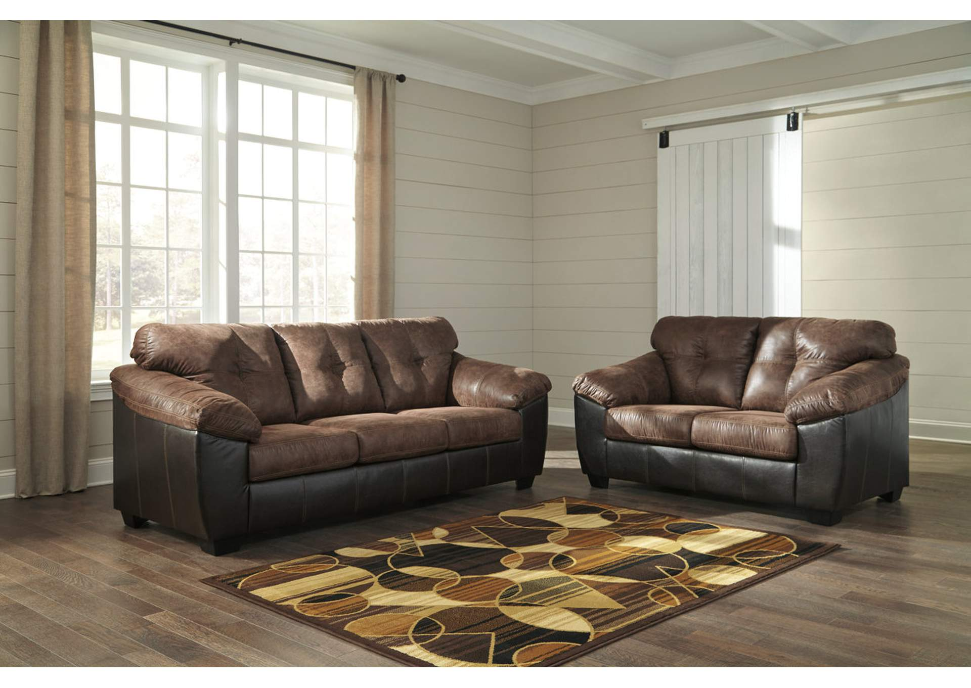 Gregale Coffee Sofa & Loveseat,Signature Design By Ashley