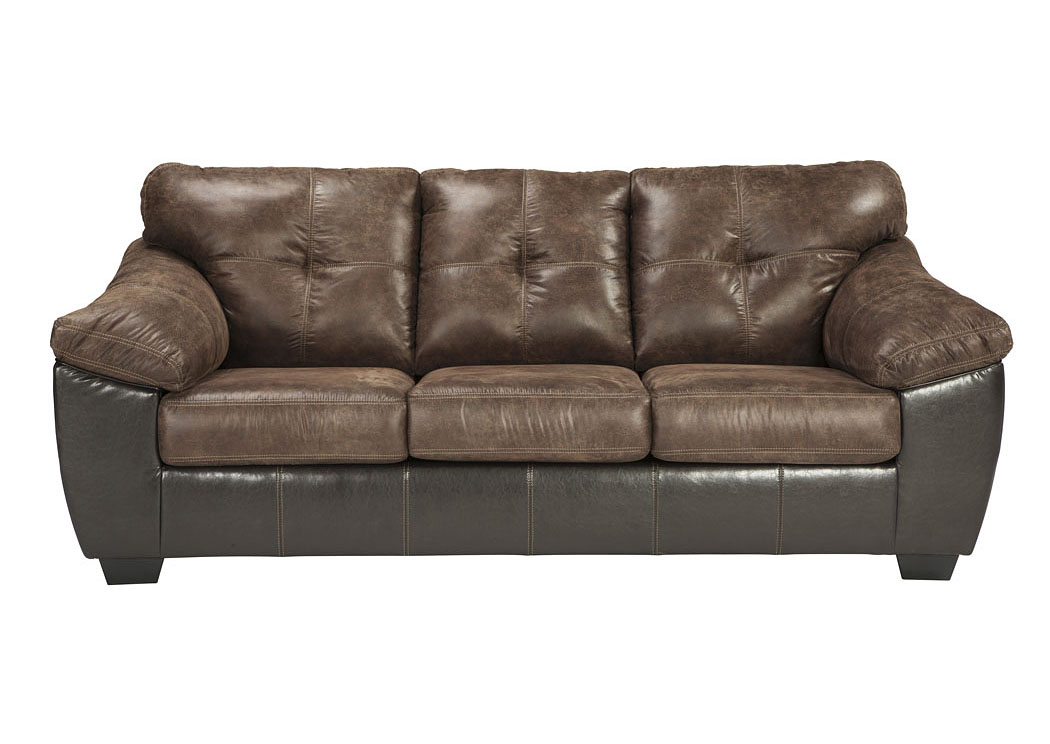 Mr H Rent To Own Gregale Coffee Sofa