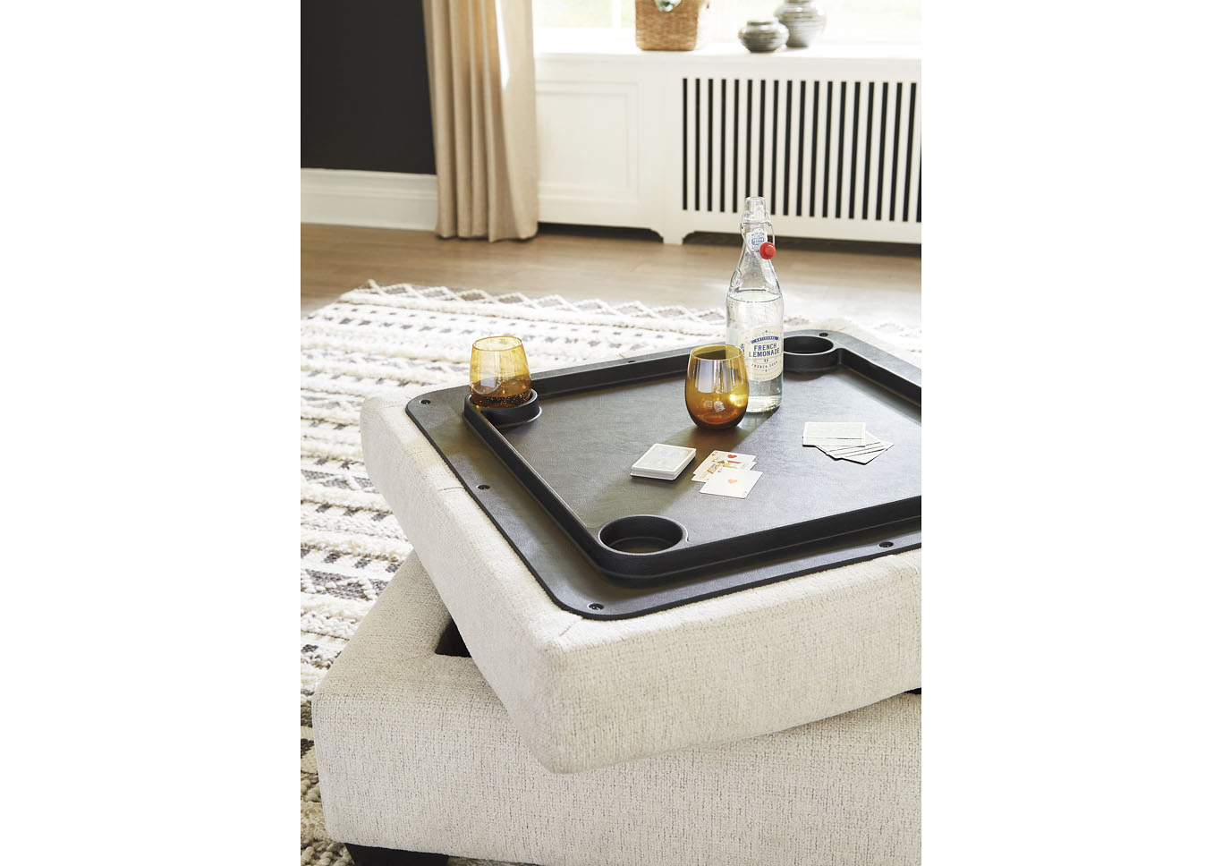 Cambri Ottoman With Storage,Ashley