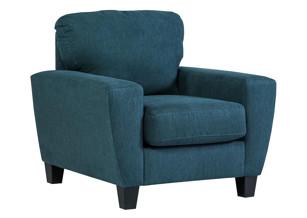 Village Furniture Tx Sagen Teal Chair