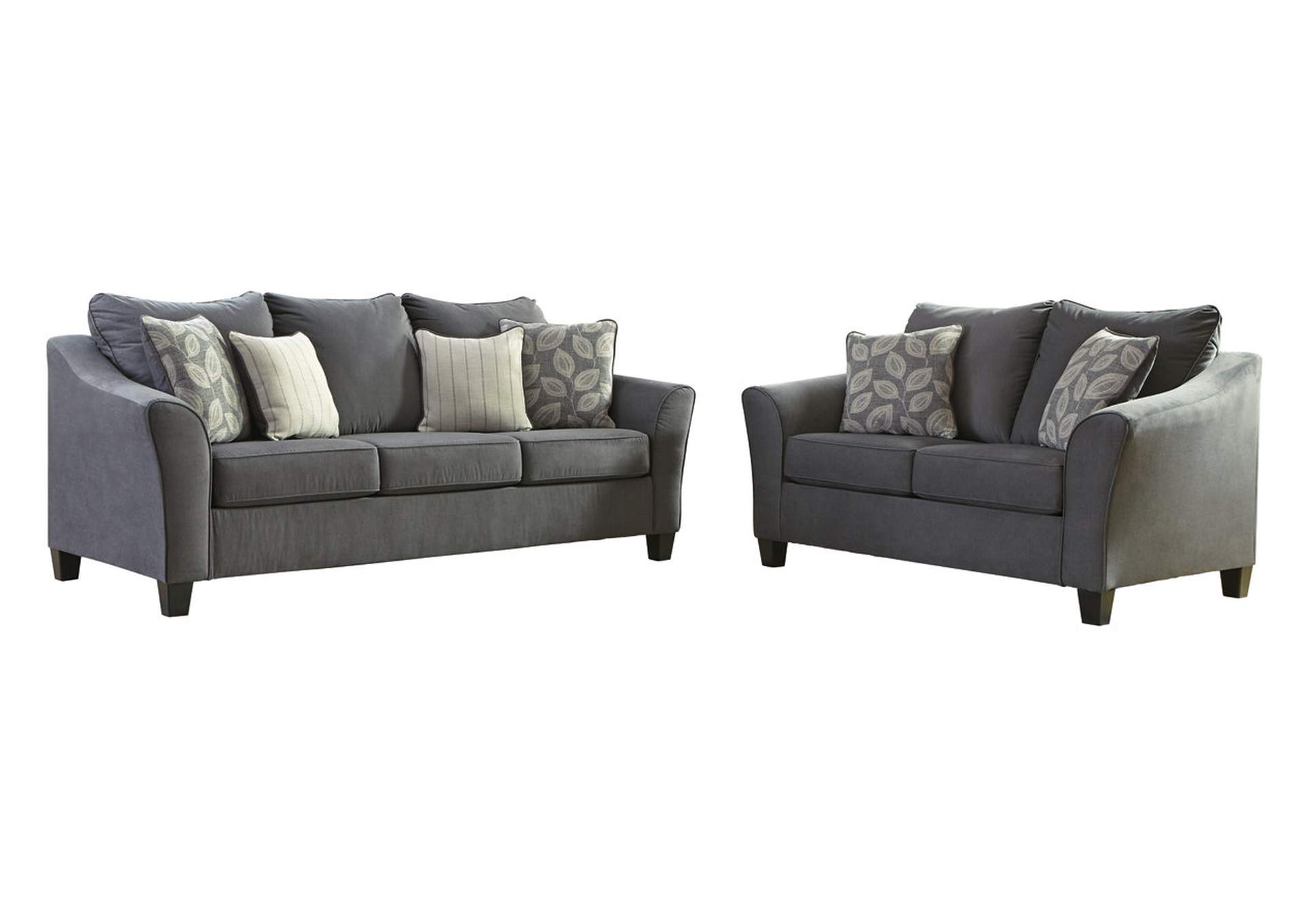 Sanzero Graphite Sofa & Loveseat,Signature Design By Ashley