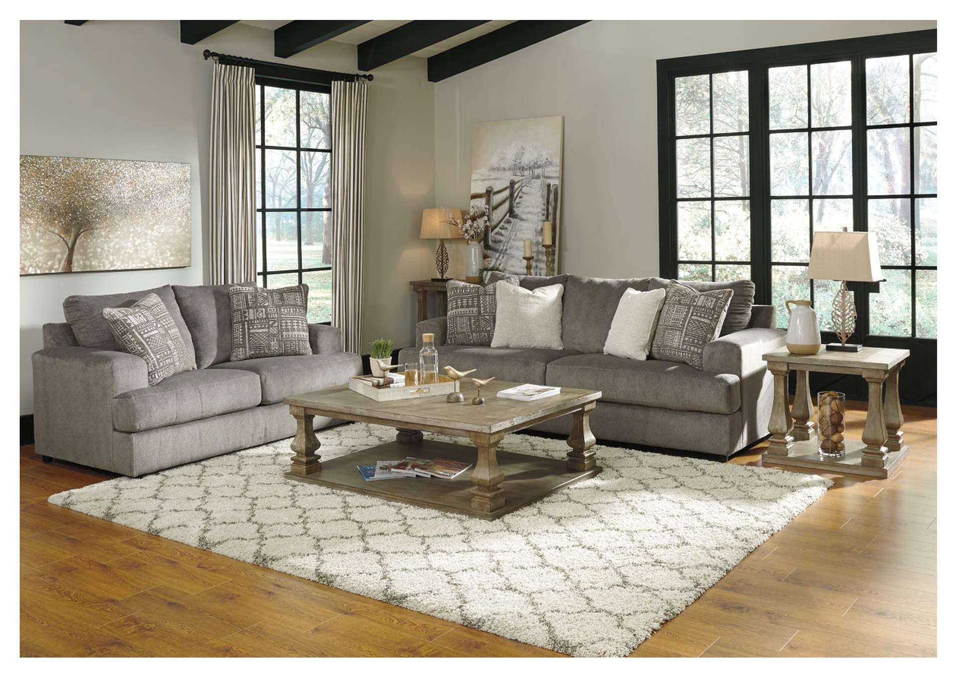 Soletren Ash Sofa & Loveseat,Signature Design By Ashley