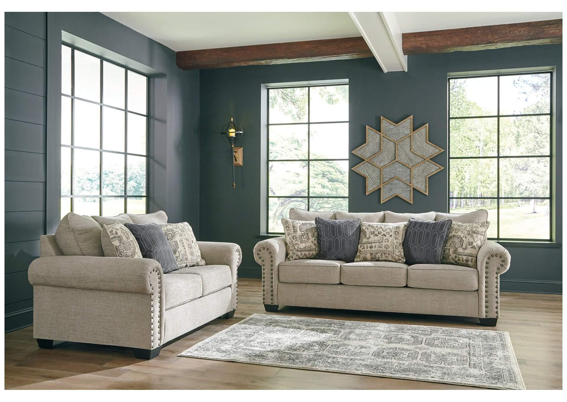 Zarina Jute Sofa Amp Loveseat Roses Flooring And Furniture