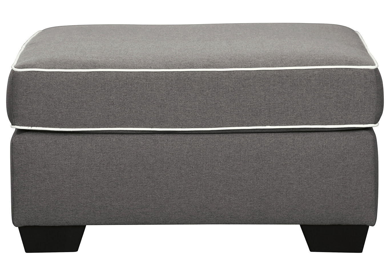 Domani Gray Ottoman,Signature Design By Ashley