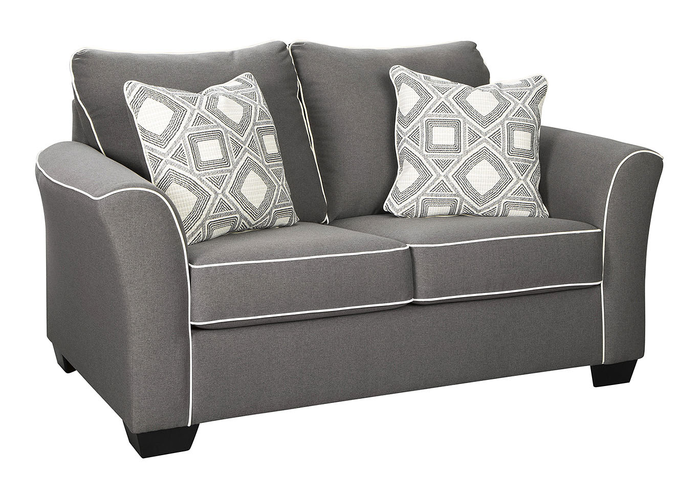 Domani Charcoal Loveseat,Signature Design By Ashley
