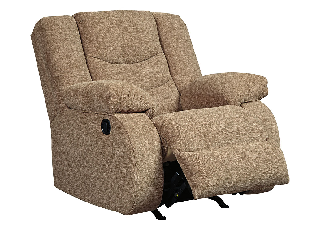 Tulen Mocha Rocker Recliner,Signature Design By Ashley