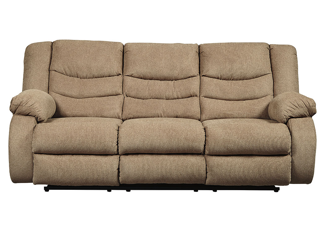 Tulen Mocha Reclining Sofa,Signature Design By Ashley