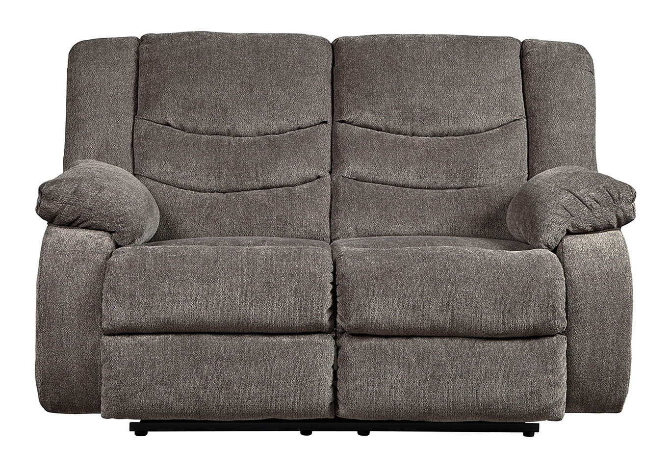 Tulen Gray Reclining Loveseat,Signature Design By Ashley