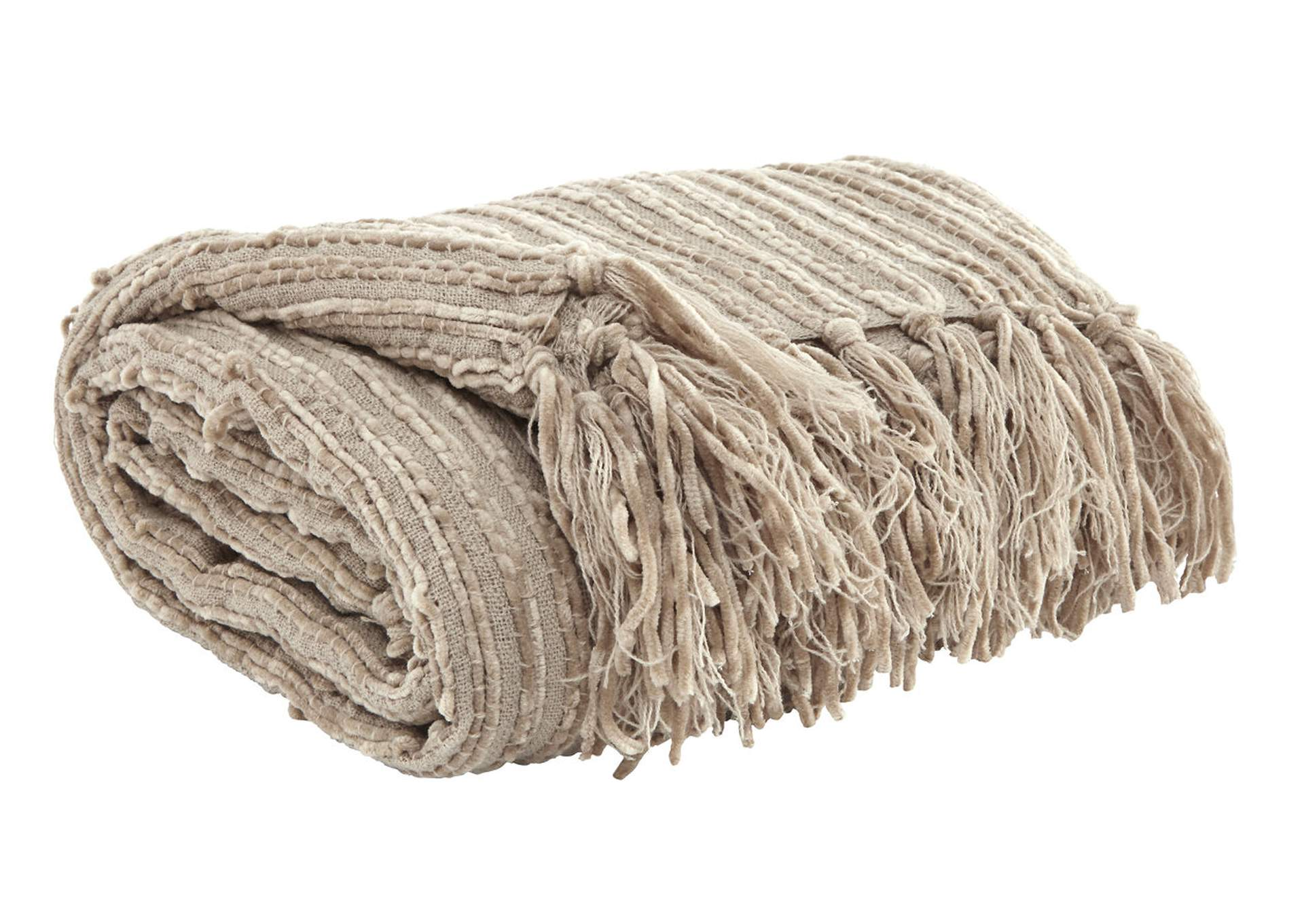 Noland Almond Throw,48 Hour Quick Ship