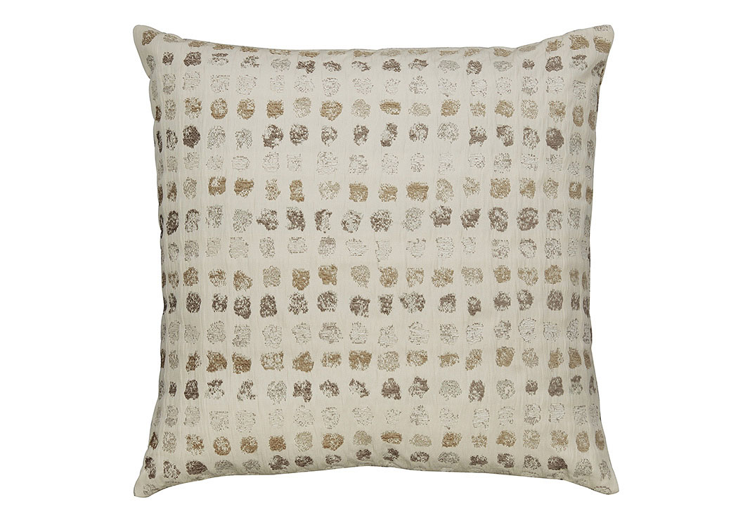 Whitehurst Cream/Taupe Pillow (4/CS),Signature Design By Ashley
