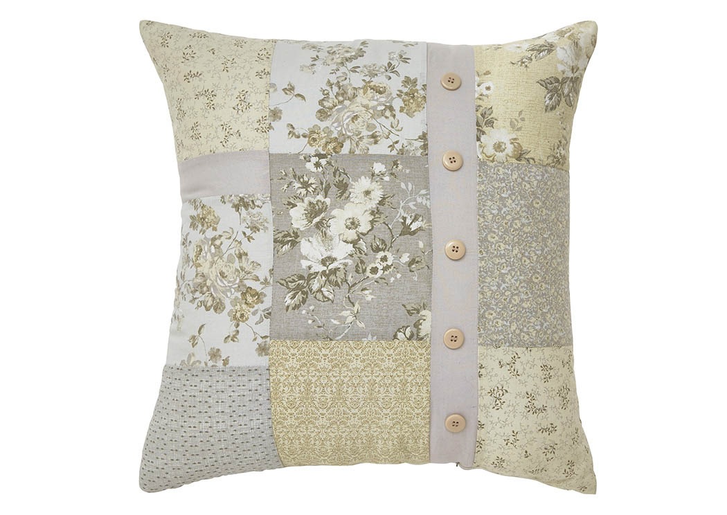 Josey Gray/Yellow/Cream Pillow,Signature Design By Ashley