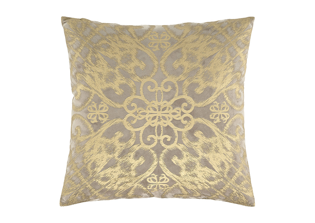 Melina Gold Pillow (Set of 4),Signature Design By Ashley