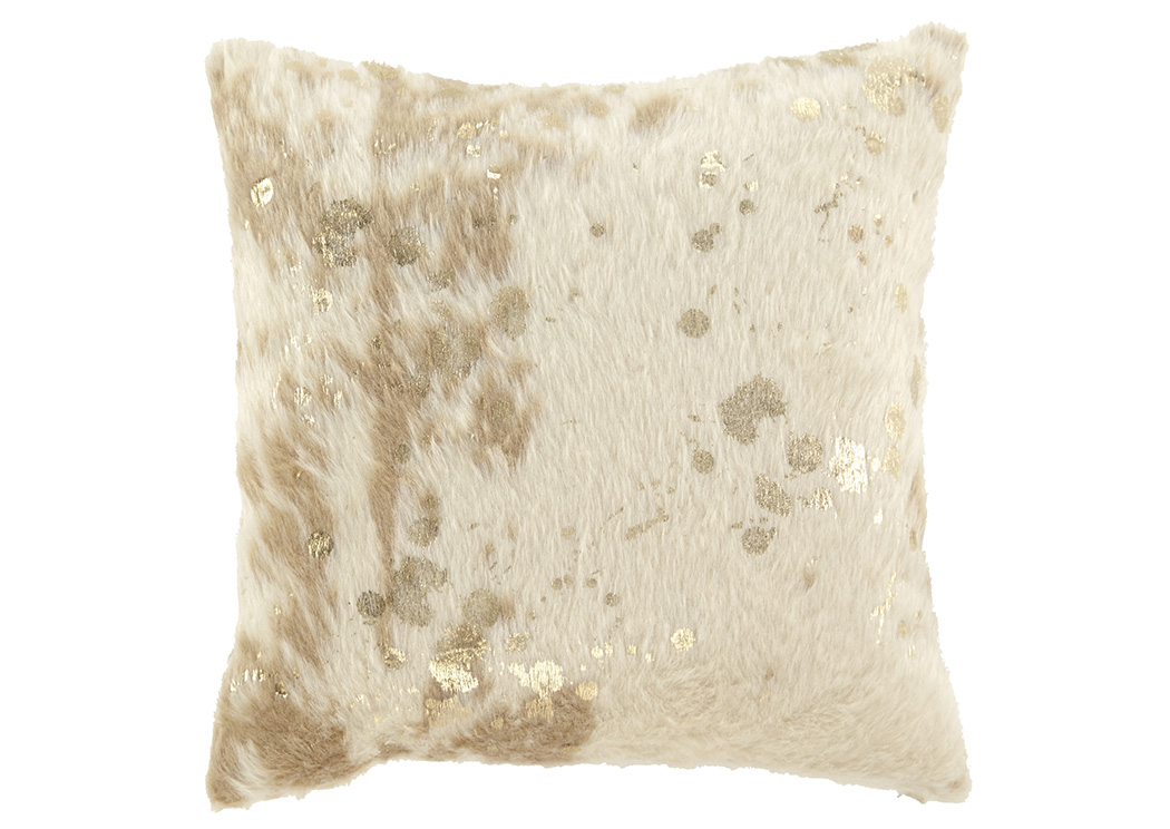 Landers Cream/Gold Pillow,Signature Design By Ashley