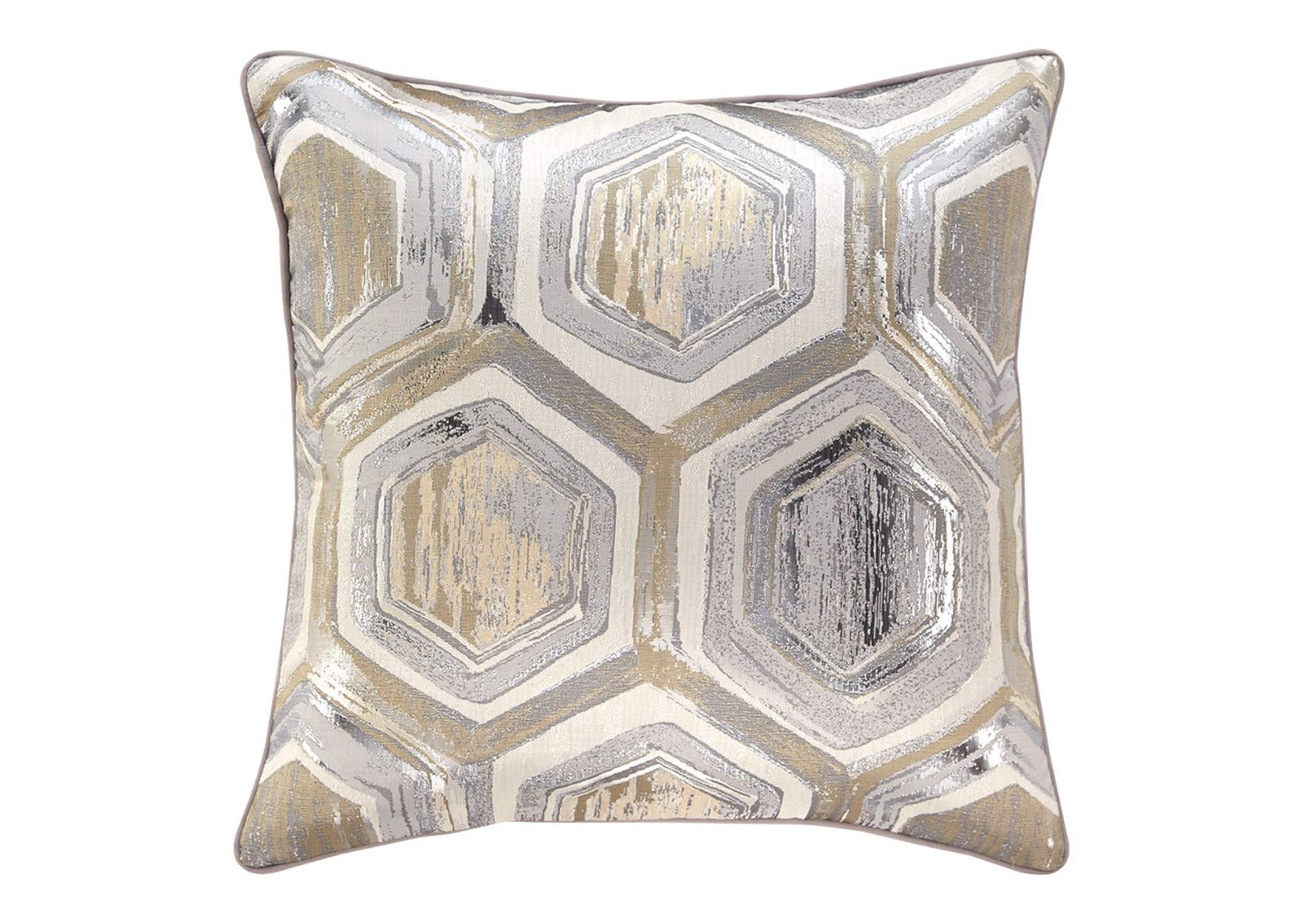 Meiling Metallic Pillow (4/CS),Signature Design By Ashley
