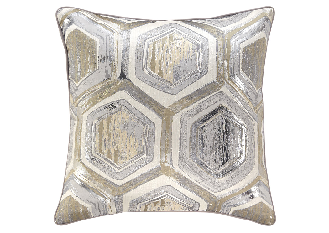 Meiling Metallic Pillow,Signature Design By Ashley