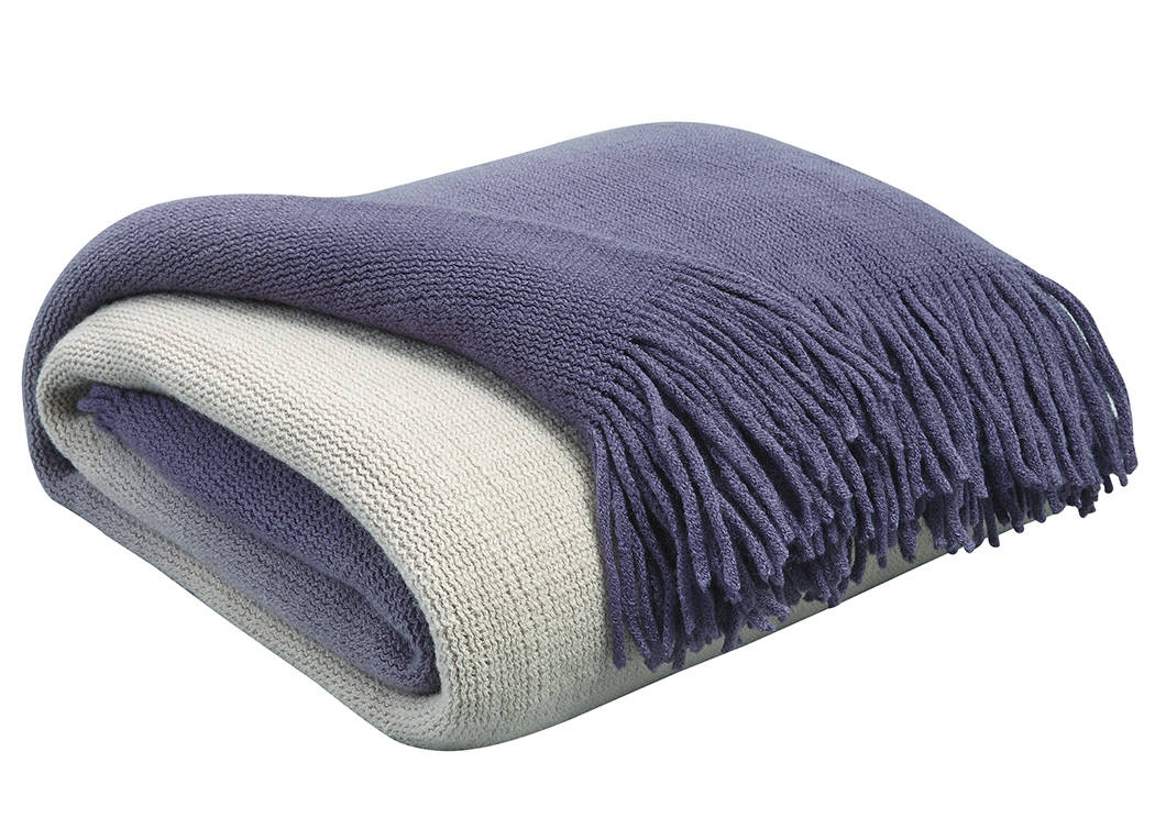 Danyl Indigo Throw (3/CS),Signature Design By Ashley
