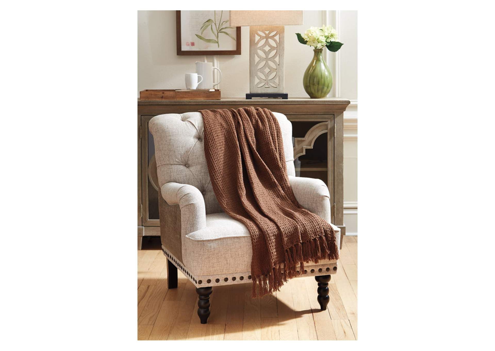 Rowena Brown Throw,Signature Design By Ashley