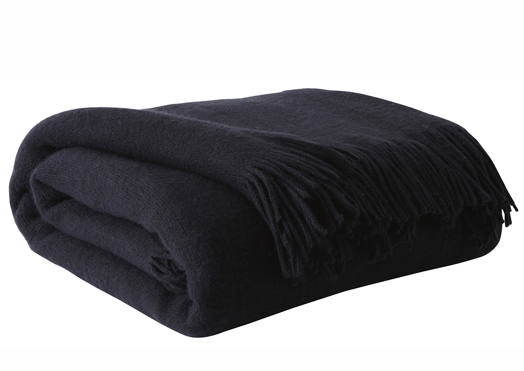 Shiloh Black Throw,Signature Design By Ashley