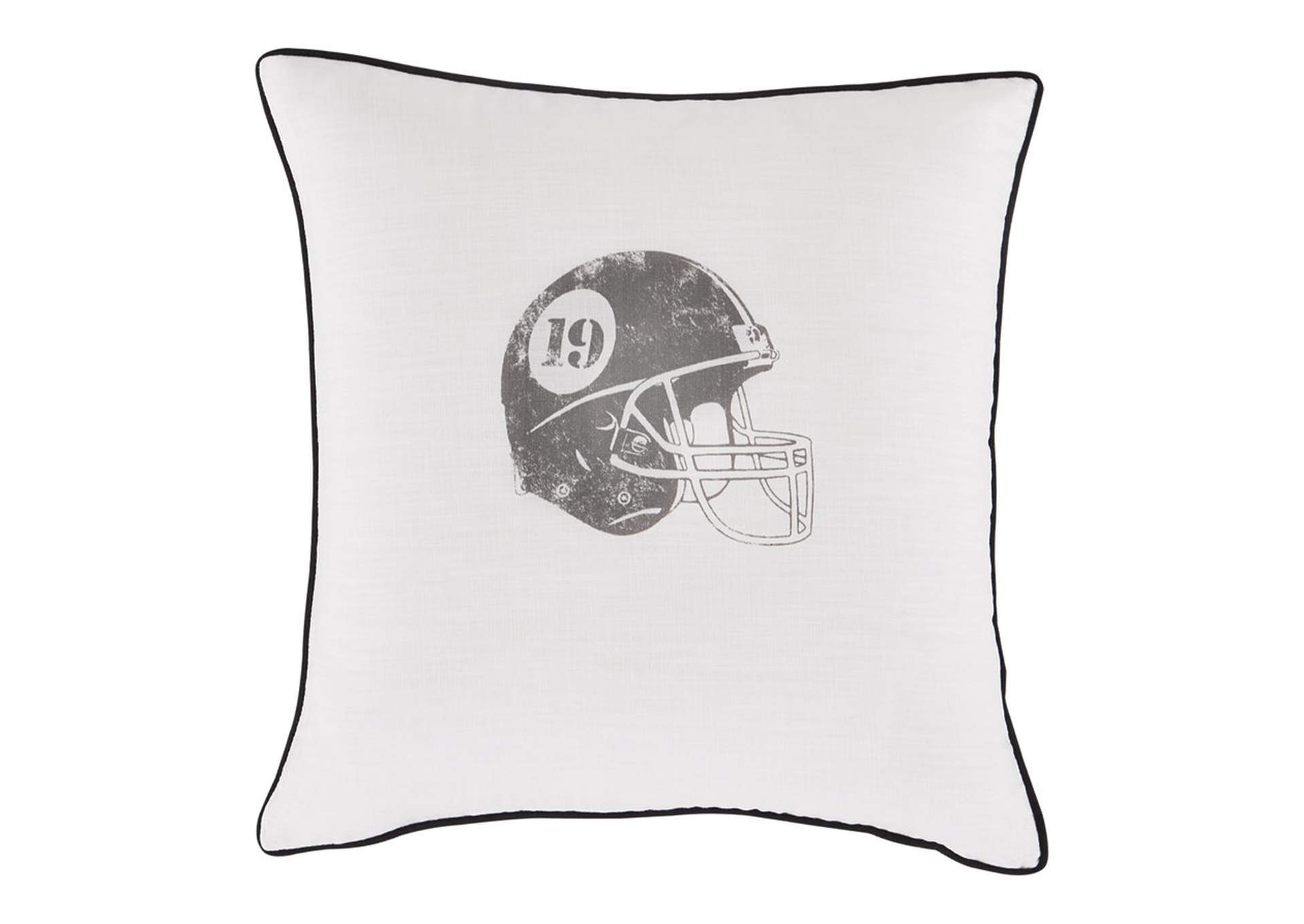 Waman Football Design 4 Piece Pillow Set,Signature Design By Ashley