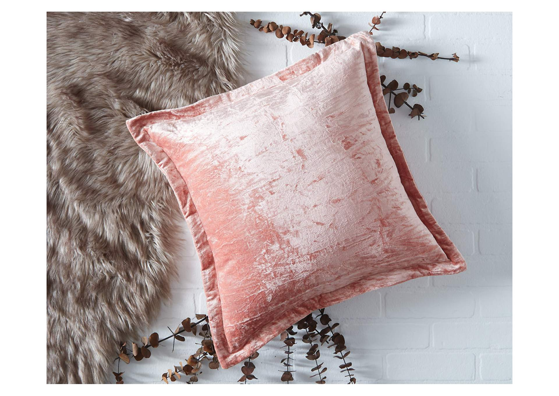 Marvene Blush Pink Pillow,Signature Design By Ashley