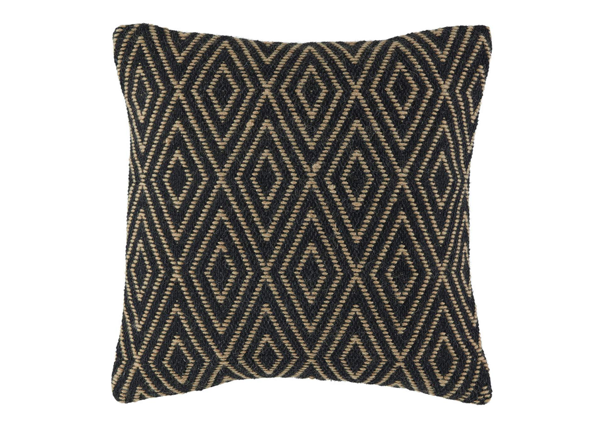 Mitt Black/Tan Pillow (Set of 4),Signature Design By Ashley