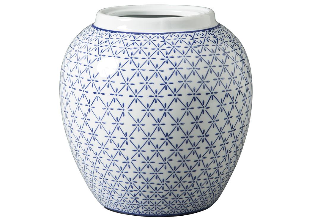 Mr Discount Furniture Chicago Il Dionyhsius Bluewhite Vase