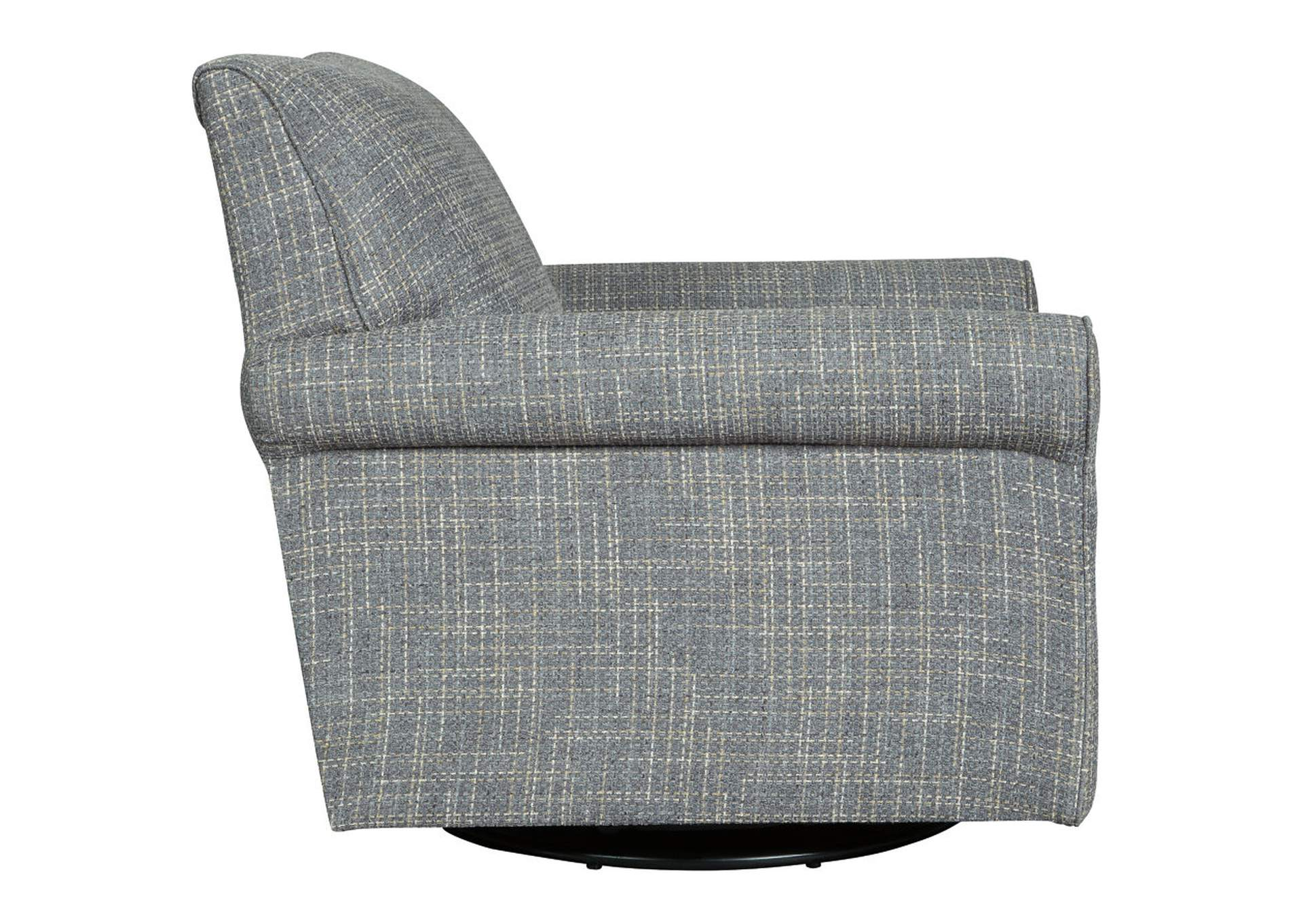 Renley Gray Swivel Glider Chair,Signature Design By Ashley