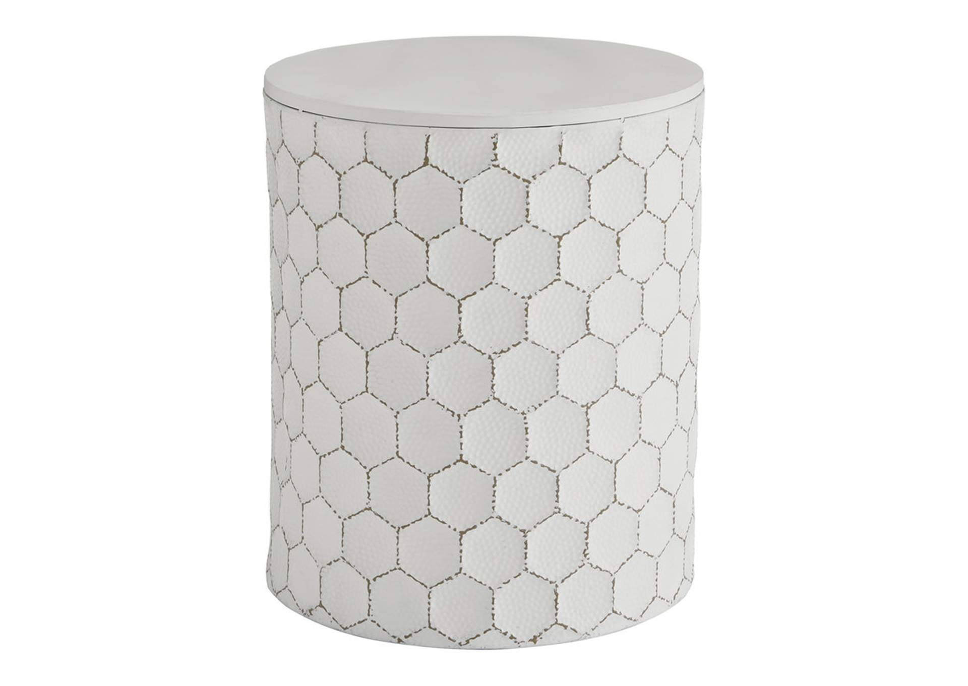 Polly White Stool,Signature Design By Ashley