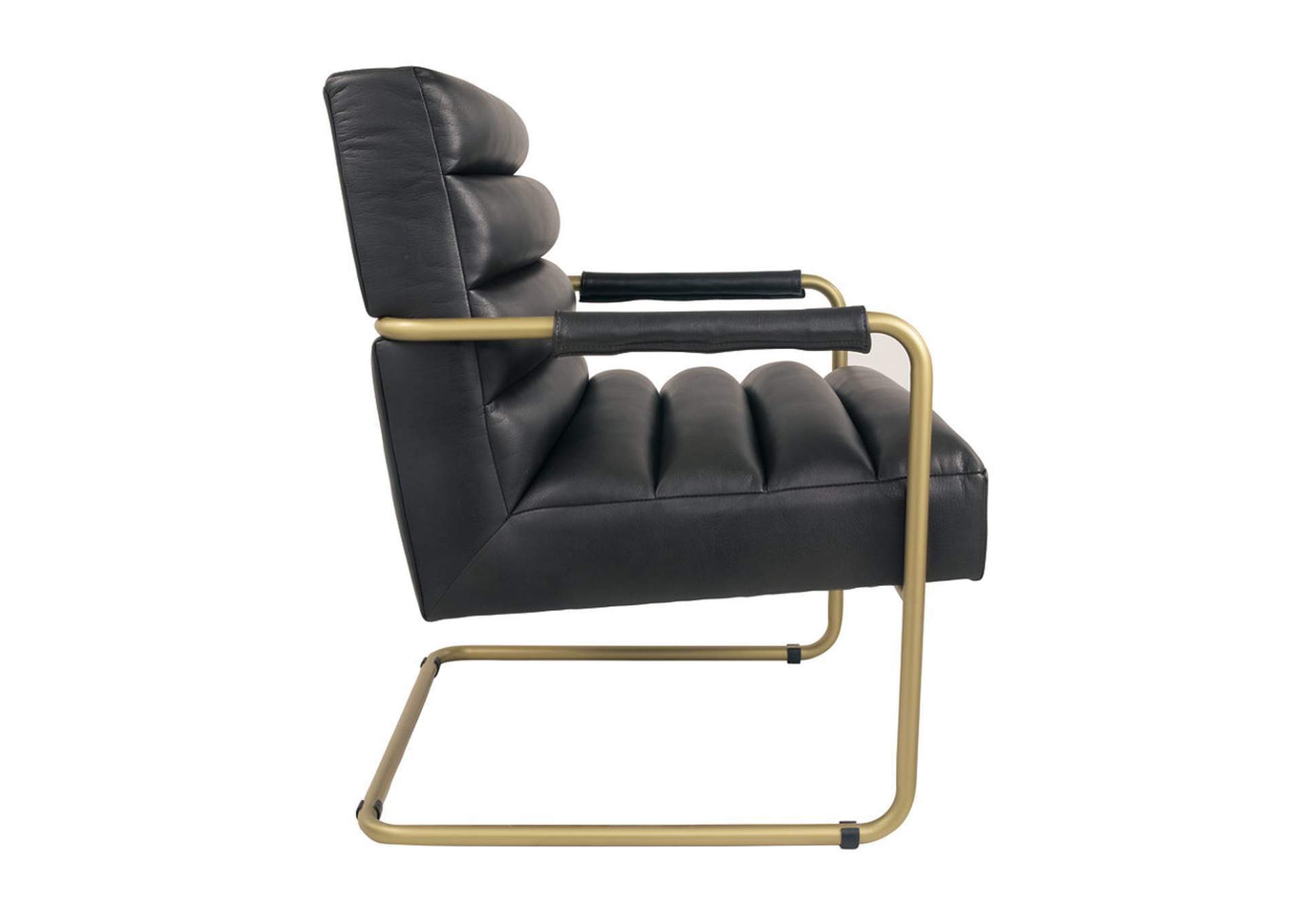 Hackley Black Accent Chair,Signature Design By Ashley