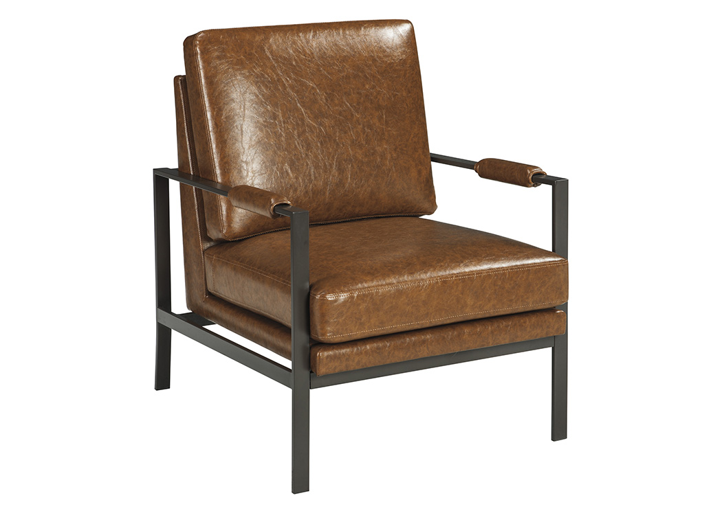 Peacemaker Brown Accent Chair,Signature Design By Ashley