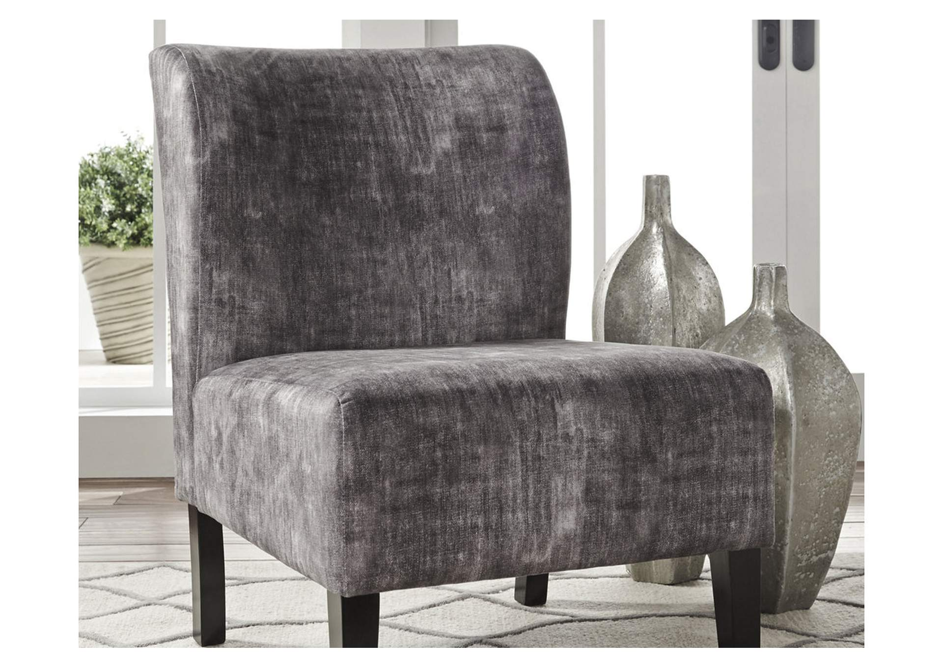 Triptis Charcoal Accent Chair,Signature Design By Ashley