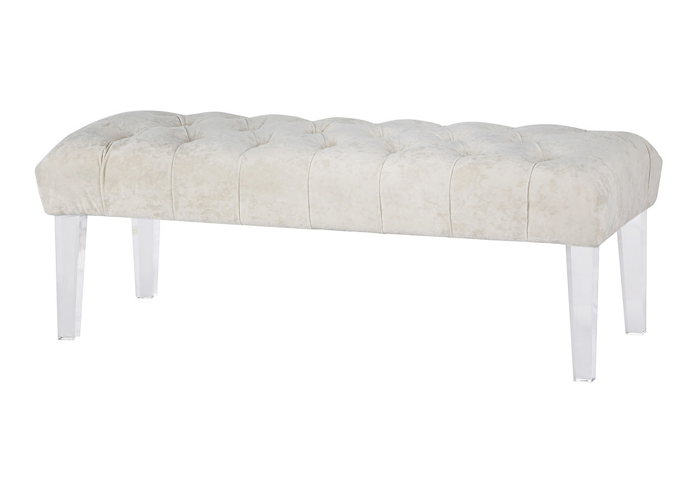Brooklee Ivory Accent Bench,Signature Design By Ashley
