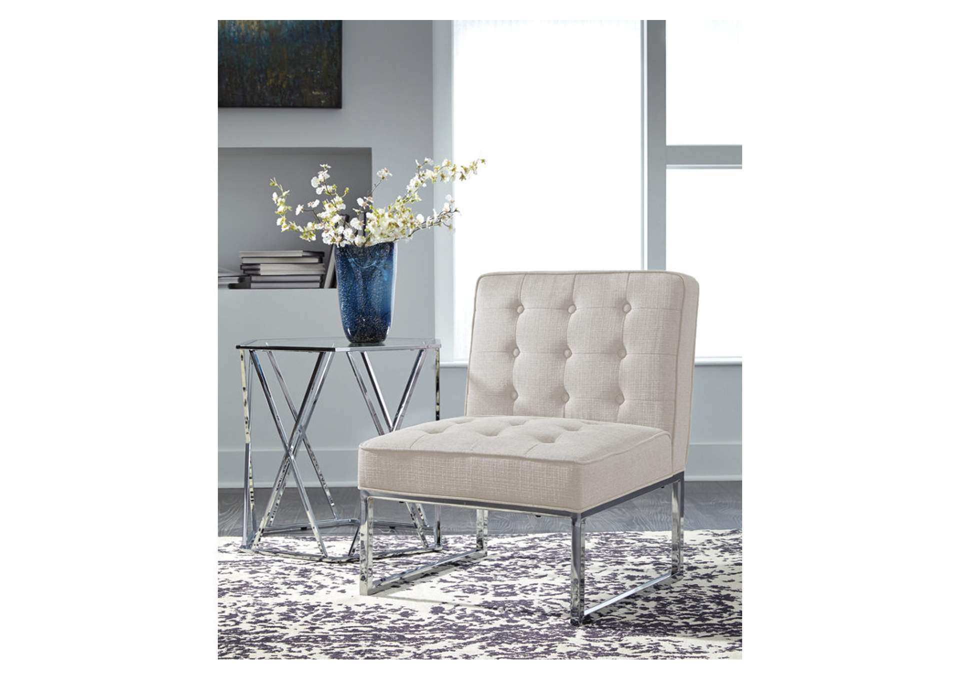 Cimarosse Ivory Accent Chair,Signature Design By Ashley