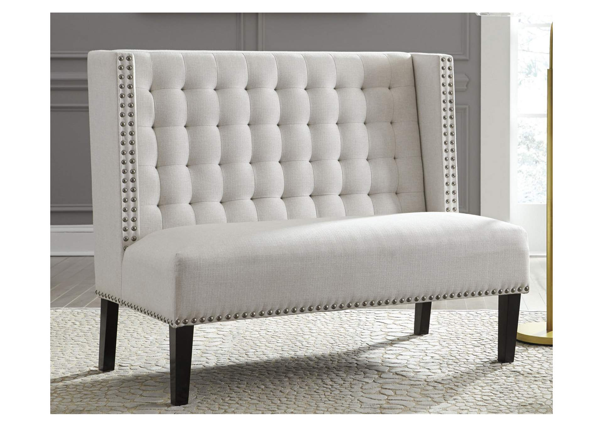 Beauland Ivory Accent Bench,Direct To Consumer Express