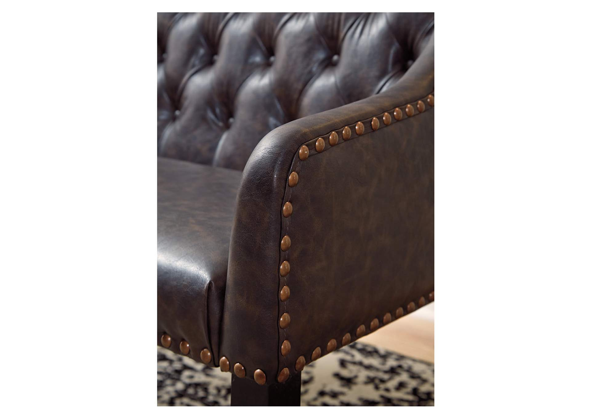 Carondelet Brown Accent Bench,Signature Design By Ashley
