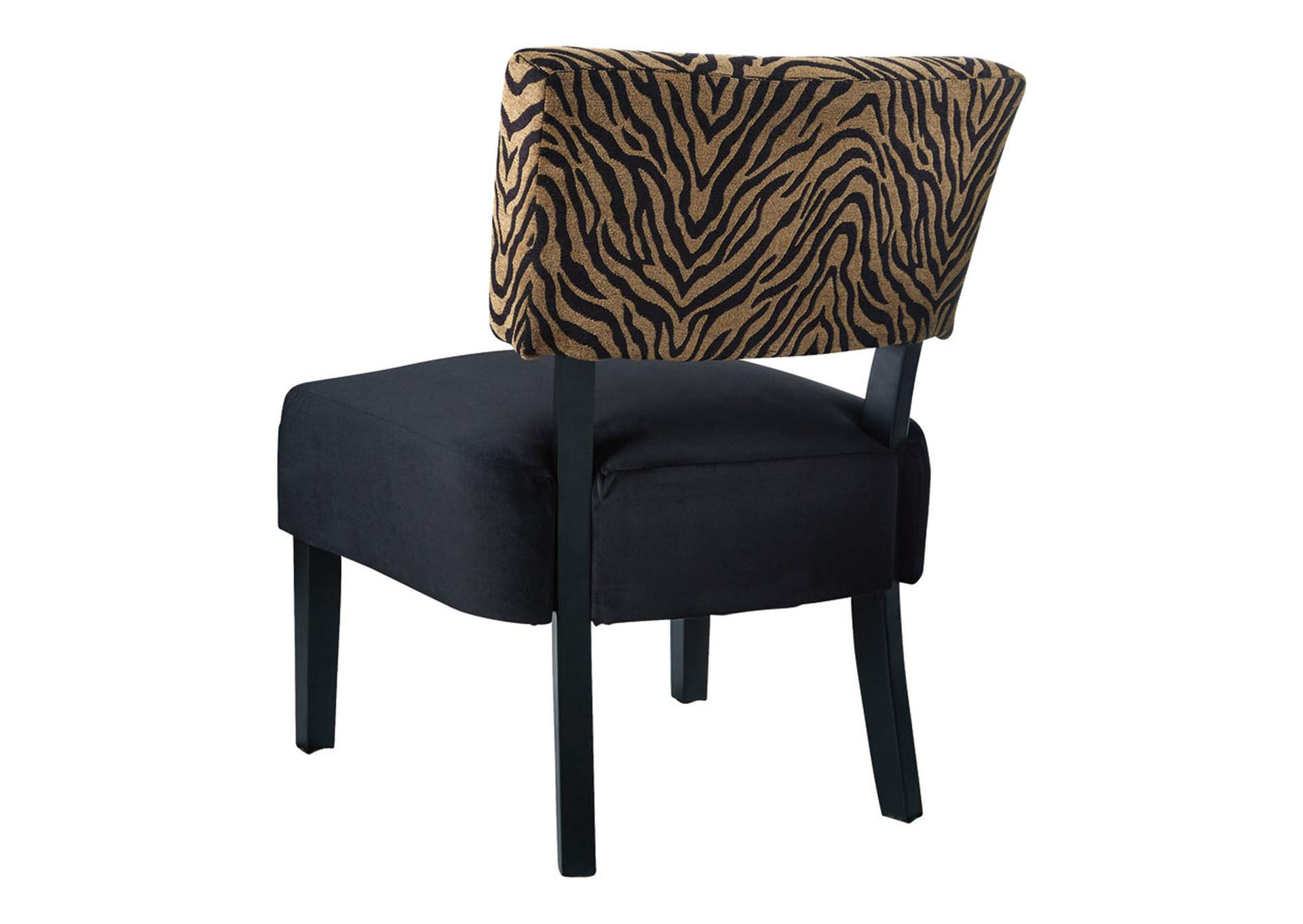 Parvin Gold/Black Accent Chair,Signature Design By Ashley