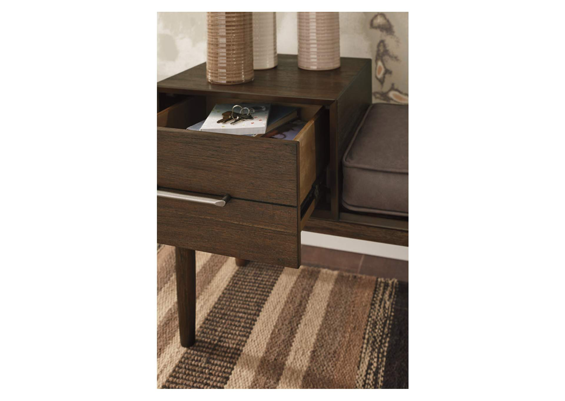 Gavinville Brown Accent Bench,Signature Design By Ashley