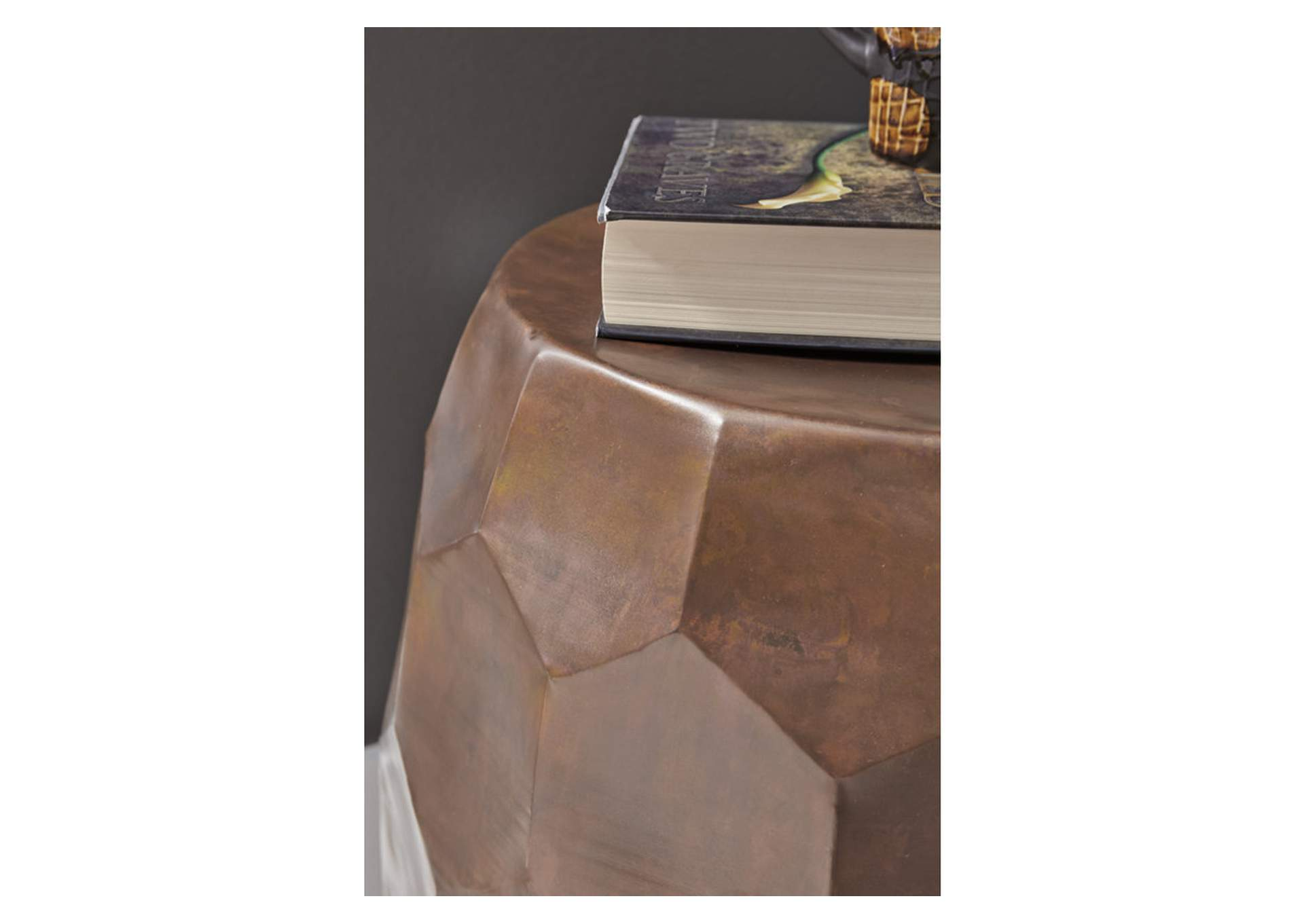 Wynlow Copper Stool,Signature Design By Ashley