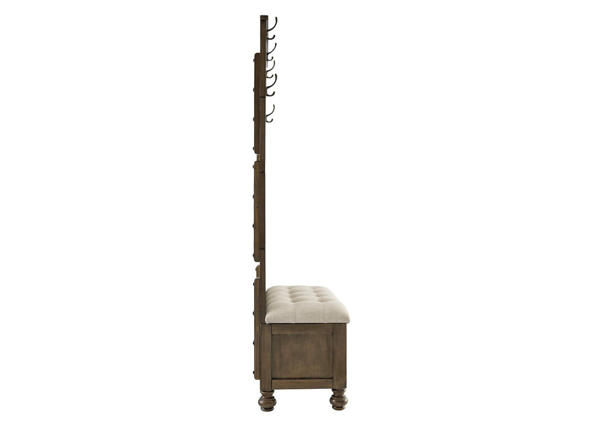 Brickwell Hall Tree with Storage Bench,Signature Design By Ashley