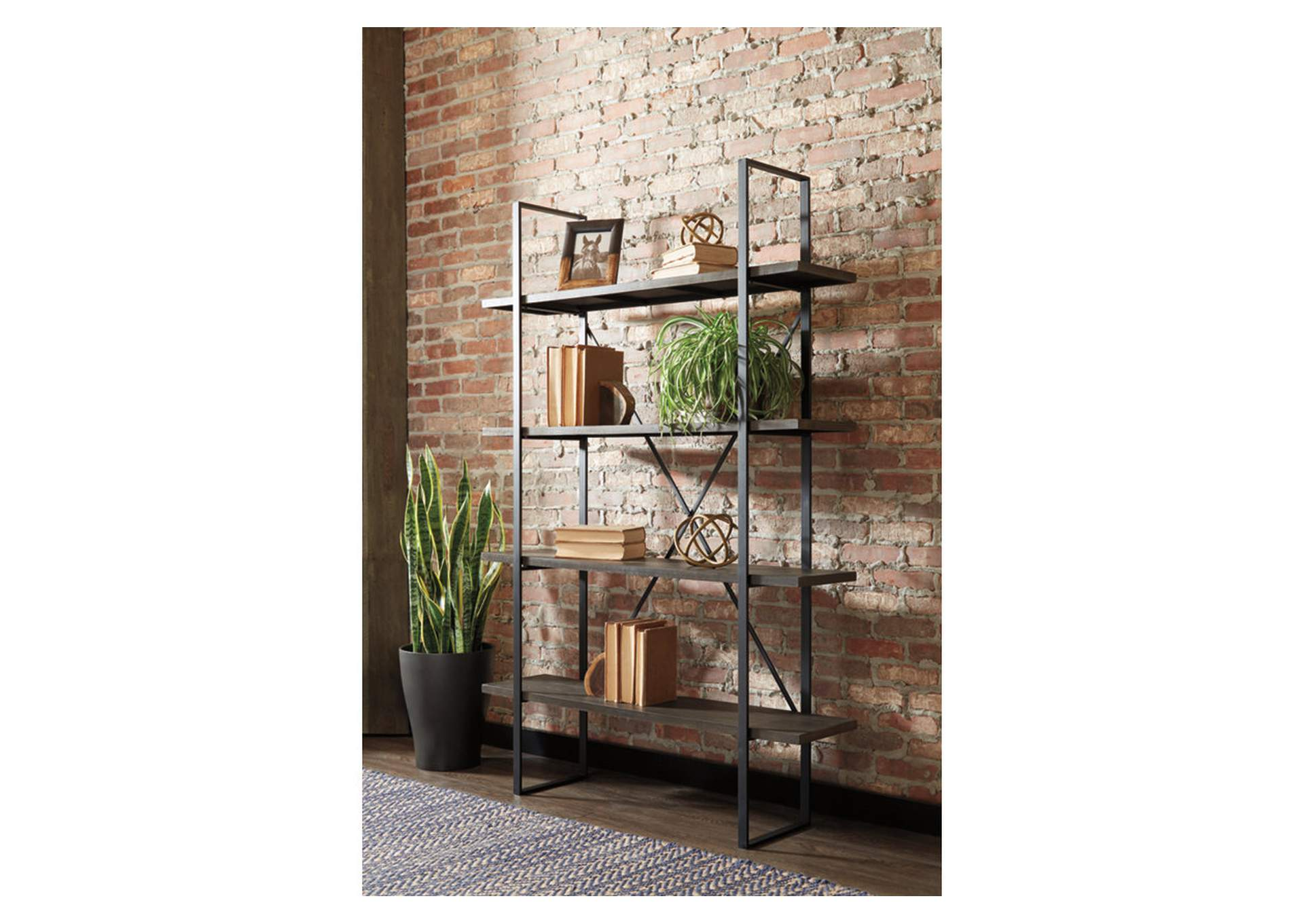 Gilesgrove Black Bookcase,Signature Design By Ashley