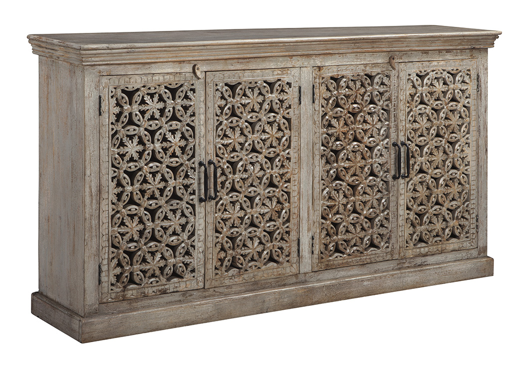 Fossil Ridge Amber Console,Signature Design By Ashley