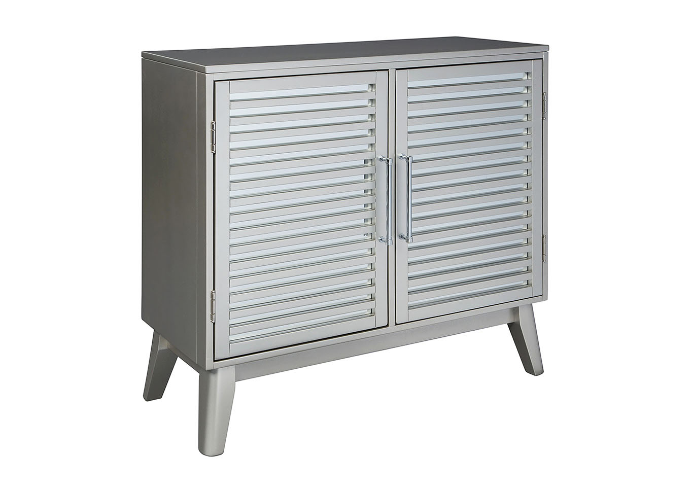 Senzernell Steel Accent Cabinet,Signature Design By Ashley